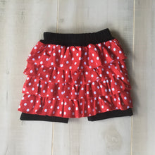 Ruffled Skort with Applique Swatch - Little Blanks