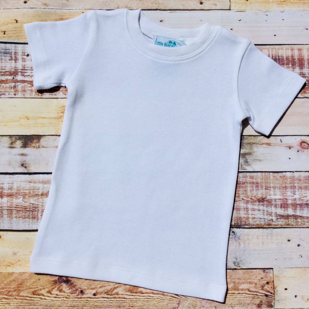 Short Sleeve T-Shirt Unisex Design - Little Blanks