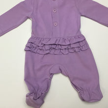 Baby Girl Sleeper with Bow Detail (Footie) - Little Blanks
