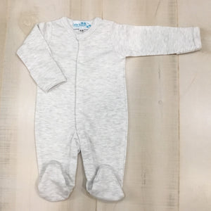 Solid Color Footies -Unisex - Little Blanks, LLC