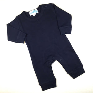 Baby Boy Long Sleeve Romper - Little Blanks