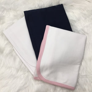 CLEARANCE - Baby Solid Receiving Blanket - Unisex - Little Blanks