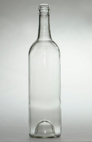 Glass Wine Bottles with closure