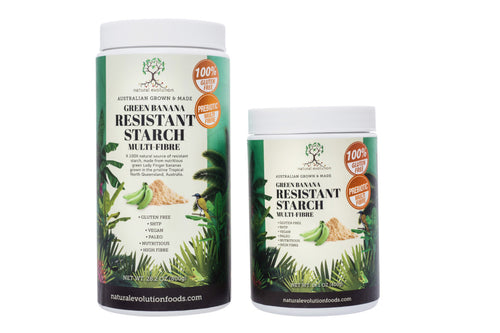 Green banana resistant starch 400g