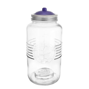 2L Glass Fermentation Vessel - 4 piece