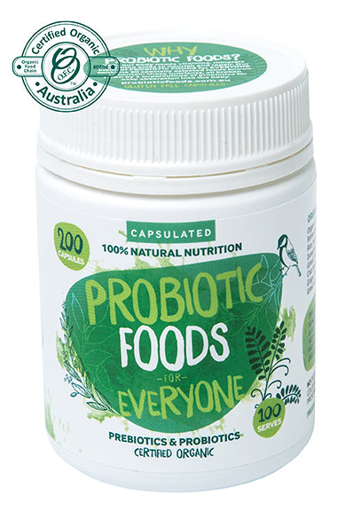 Probiotic Foods for Everybody (Capsules)