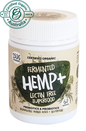 Fermented Hemp + lectin free superfoods