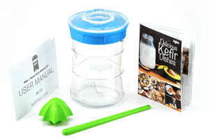 Kefirko Kefir Maker + Bonus Recipe Book