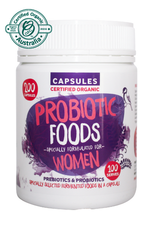 Probiotic Foods For Women (Capsules)