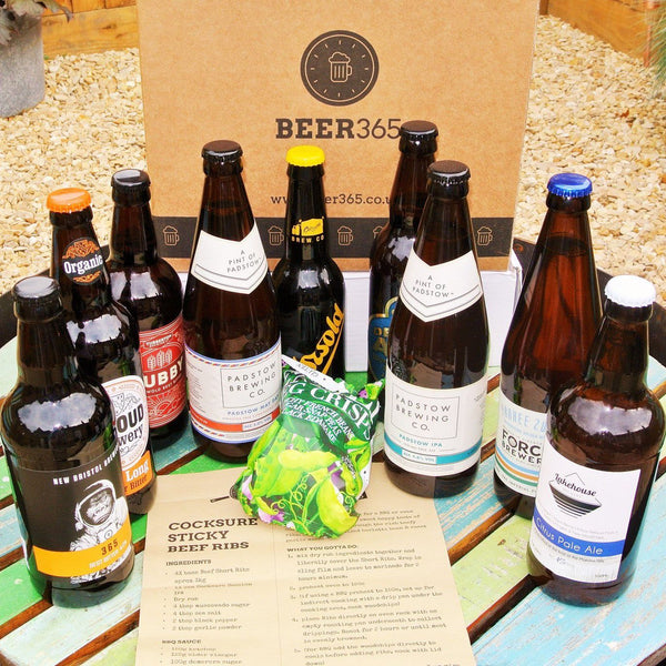 Beer Club Subscription - Monthly 'Best Of British' 9 Bottle Box