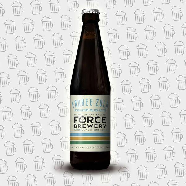 Bottle - Force Brewery Yankee Zulu