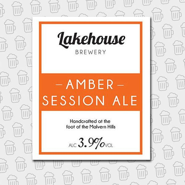 Bottle - Lakehouse Brewery Amber Session Ale
