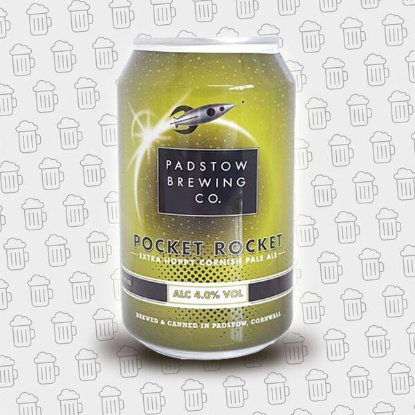 Bottle - Padstow Brewing Co Pocket Rocket