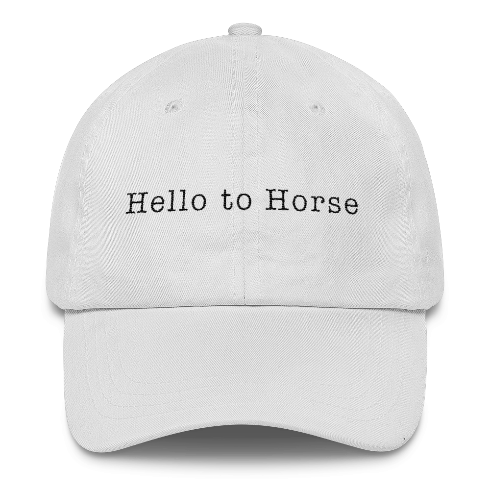 Hat That Says