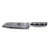 santoku full tang blade triple riveted handle knife