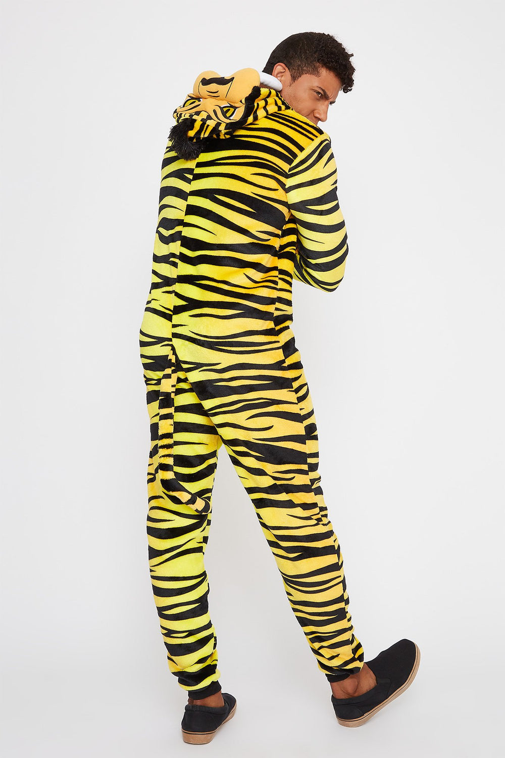 Adult Tiger Onesie Yellow
