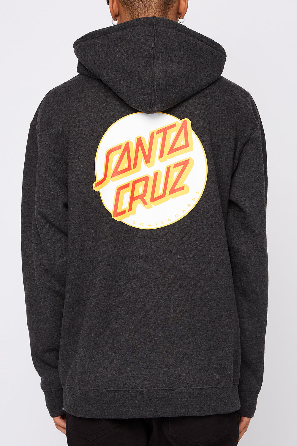 Santa Cruz Mens Other Dot Hoodie White