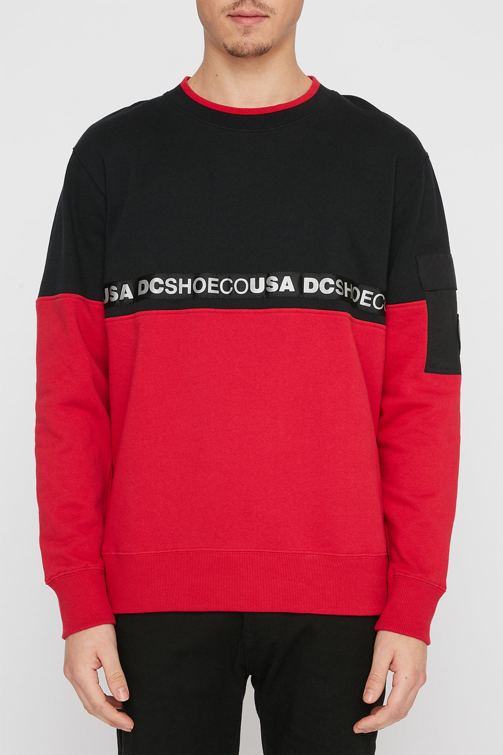 Chandail DC Simmons Homme Rouge
