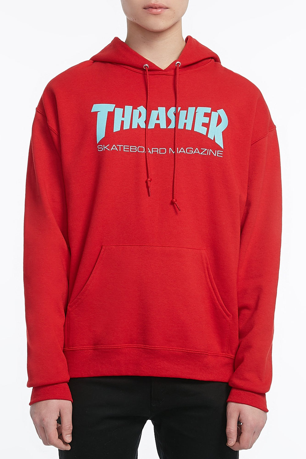 Thrasher Mens Red Hoodie Red