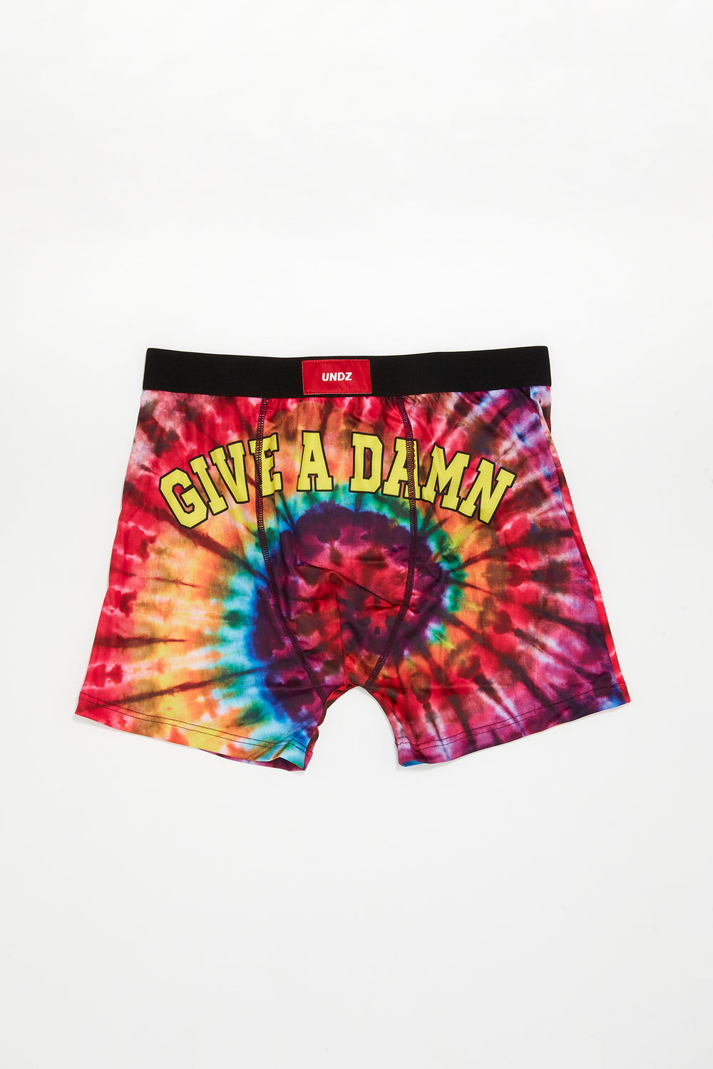 Undz Mens Tie-Dye Boxer Brief Multi
