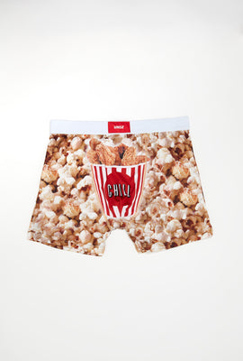 Undz Mens Popcorn & Chicken Fingers Boxer Brief