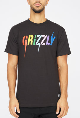 Grizzly Incite Black T-Shirt
