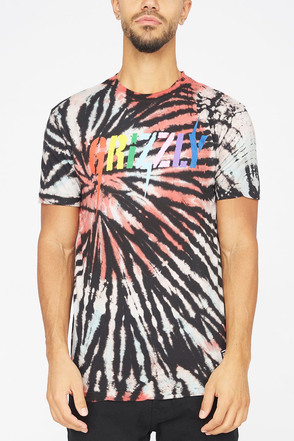 T-Shirt Tie-Dye Incite Grizzly Multi