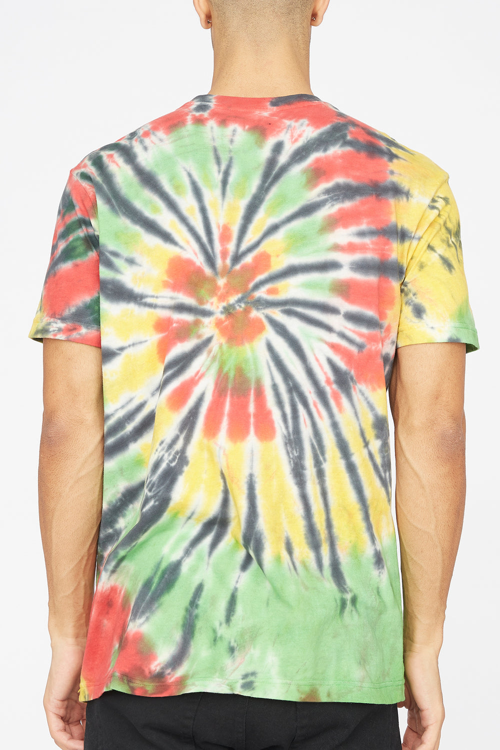 T-Shirt Tie-Dye Lined Up Grizzly Multi