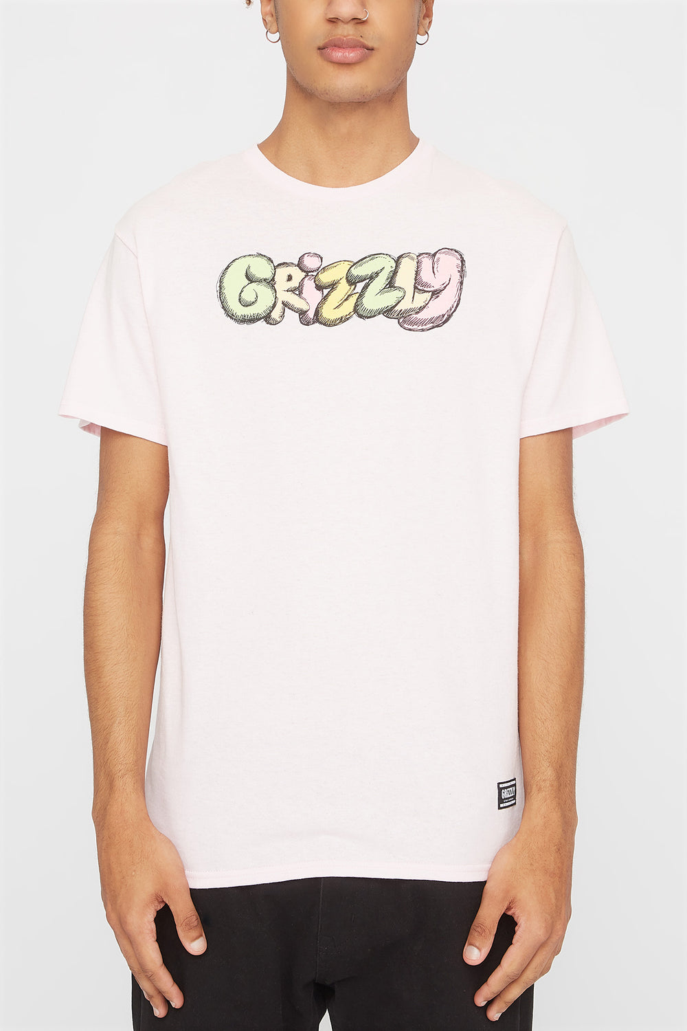 T-Shirt Fuzzy Grizzly Rose