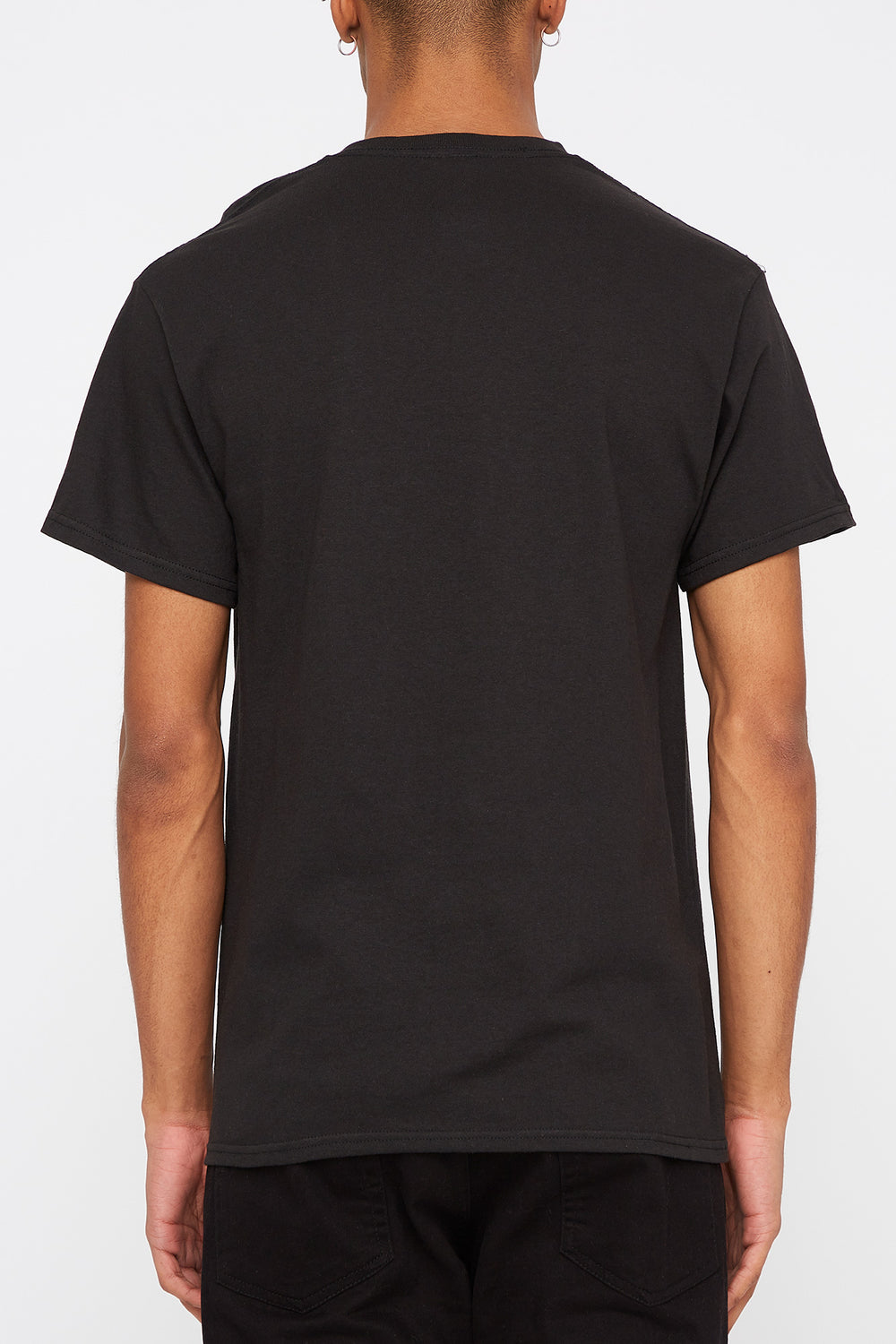 T-Shirt Logo Grizzly Homme Noir