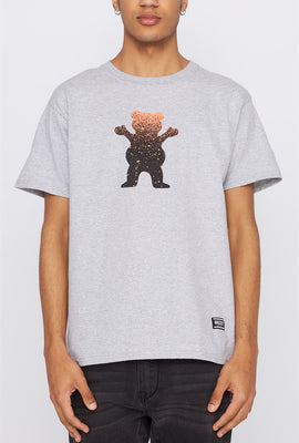 Grizzly Mens Gradient Classic Logo T-Shirt