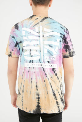 Grizzly Family Ties Tie-Dye T-Shirt