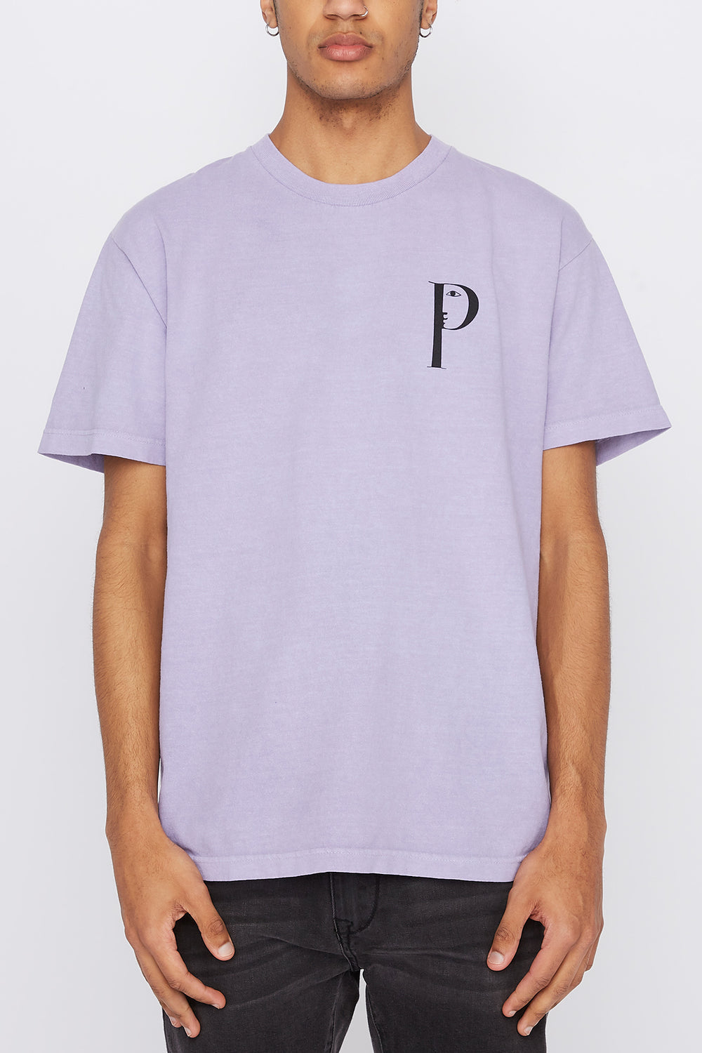 T-Shirt Lookout Primitive Homme Violet