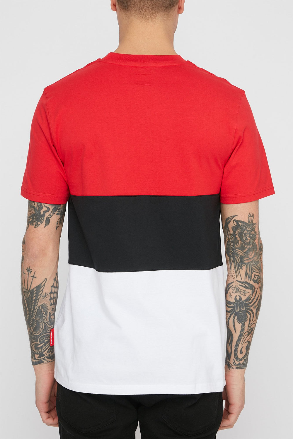 T-Shirt DC Glenferrie Homme Rouge