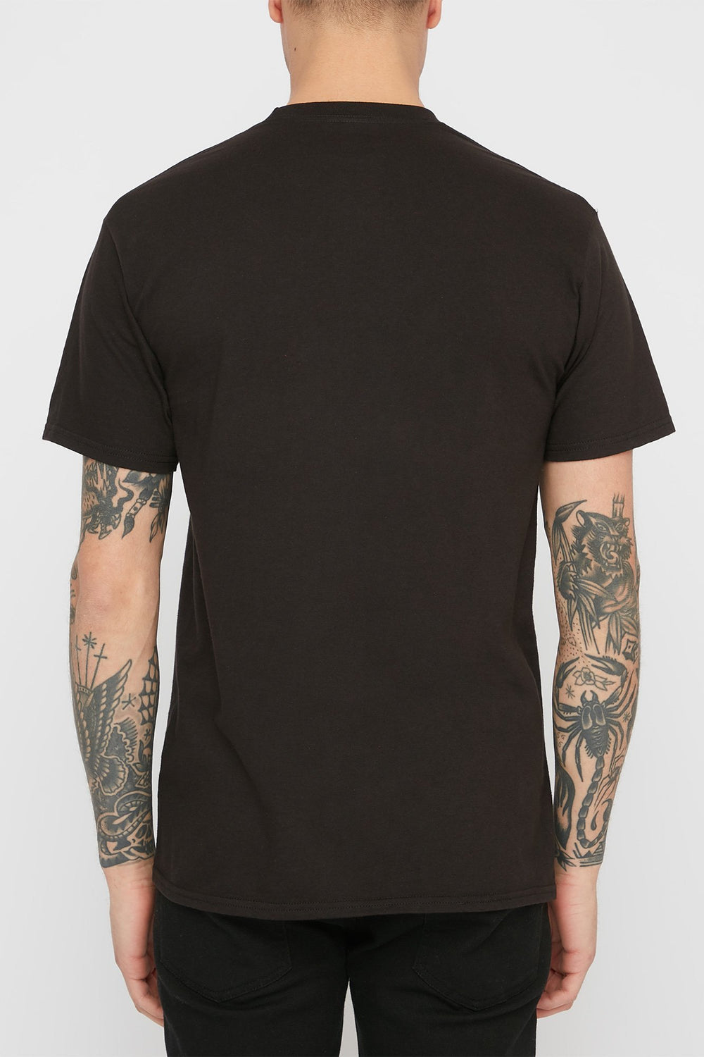 DC Mens Pill Resident T-Shirt - Black Noir