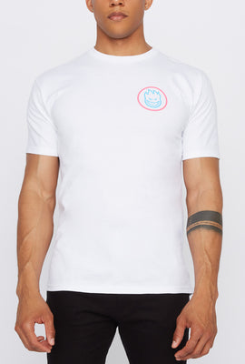 Spitfire Mens Swirl White T-Shirt