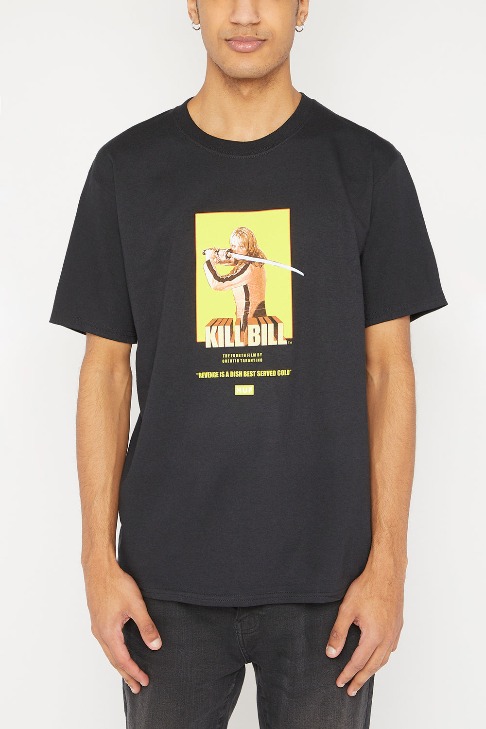 T-Shirt HUF Kill Bill Noir
