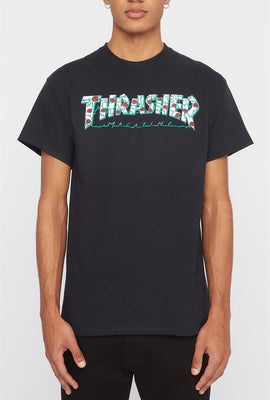 Thrasher Rose Logo T-Shirt