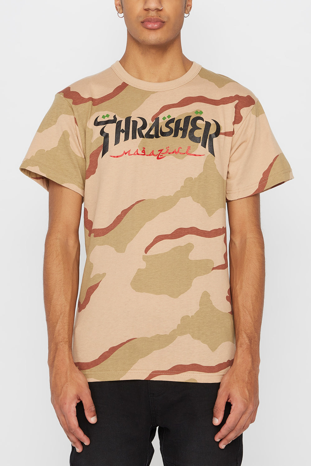 T-Shirt Thrasher Camouflage Camoufle