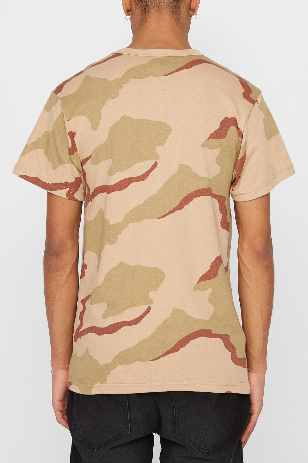 Thrasher Calligraphy T-Shirt Camouflage