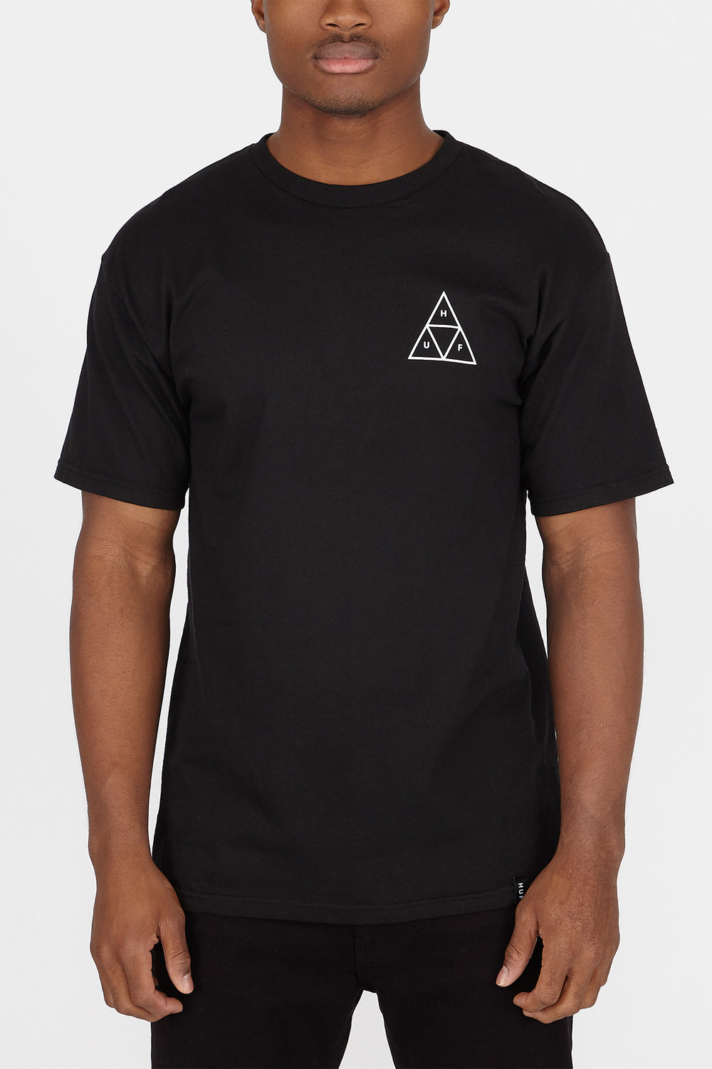 T-Shirt Triple Triangle Huf Noir