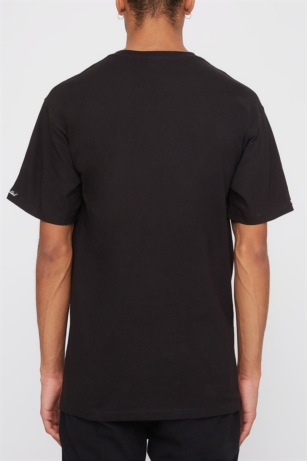 Crooks & Castles Mens Logo T-Shirt Black