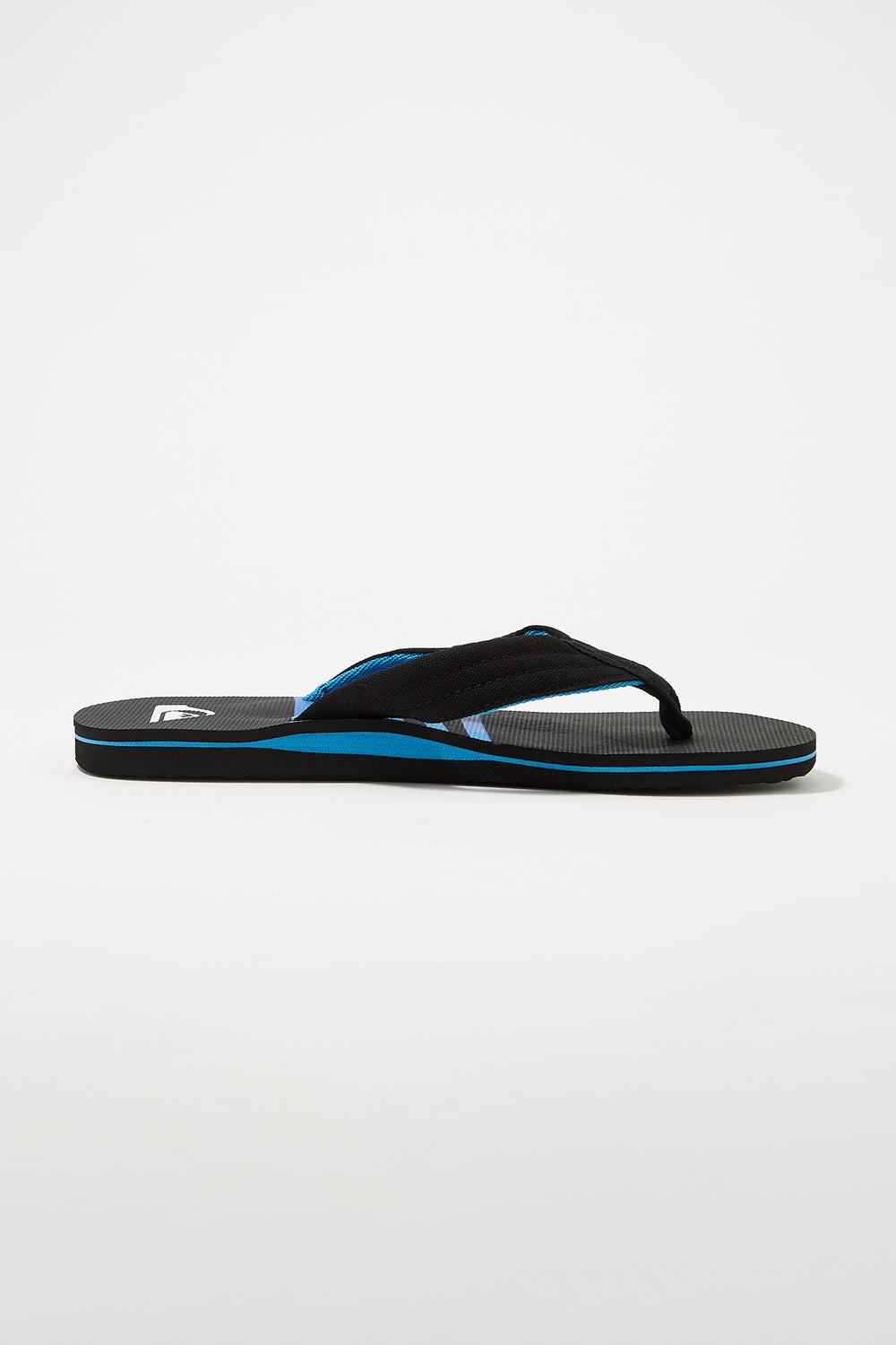 Quiksilver Mens Molokai Sandals Black with White