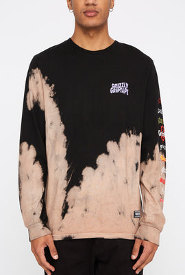 Grizzly Mens Tie-Dye Long Sleeve Shirt