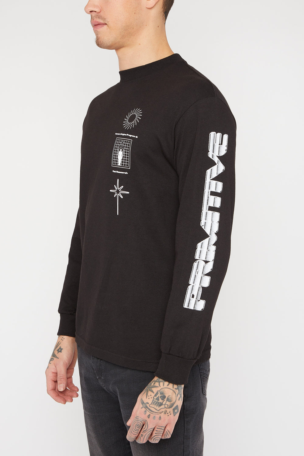 Primitive Origins Long Sleeve Black