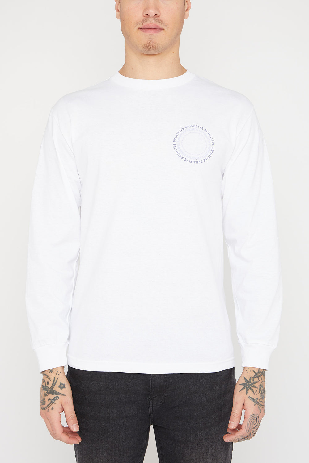 Primitive New Pace Long Sleeve White