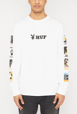 HUF Playboy Club Long Sleeve Top
