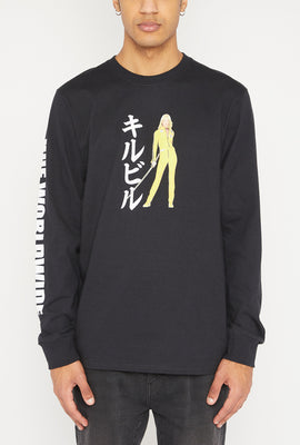 HUF Kill Bill Black Mamba Long Sleeve Top