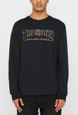 Thrasher Mens Cable Car Long Sleeve Shirt