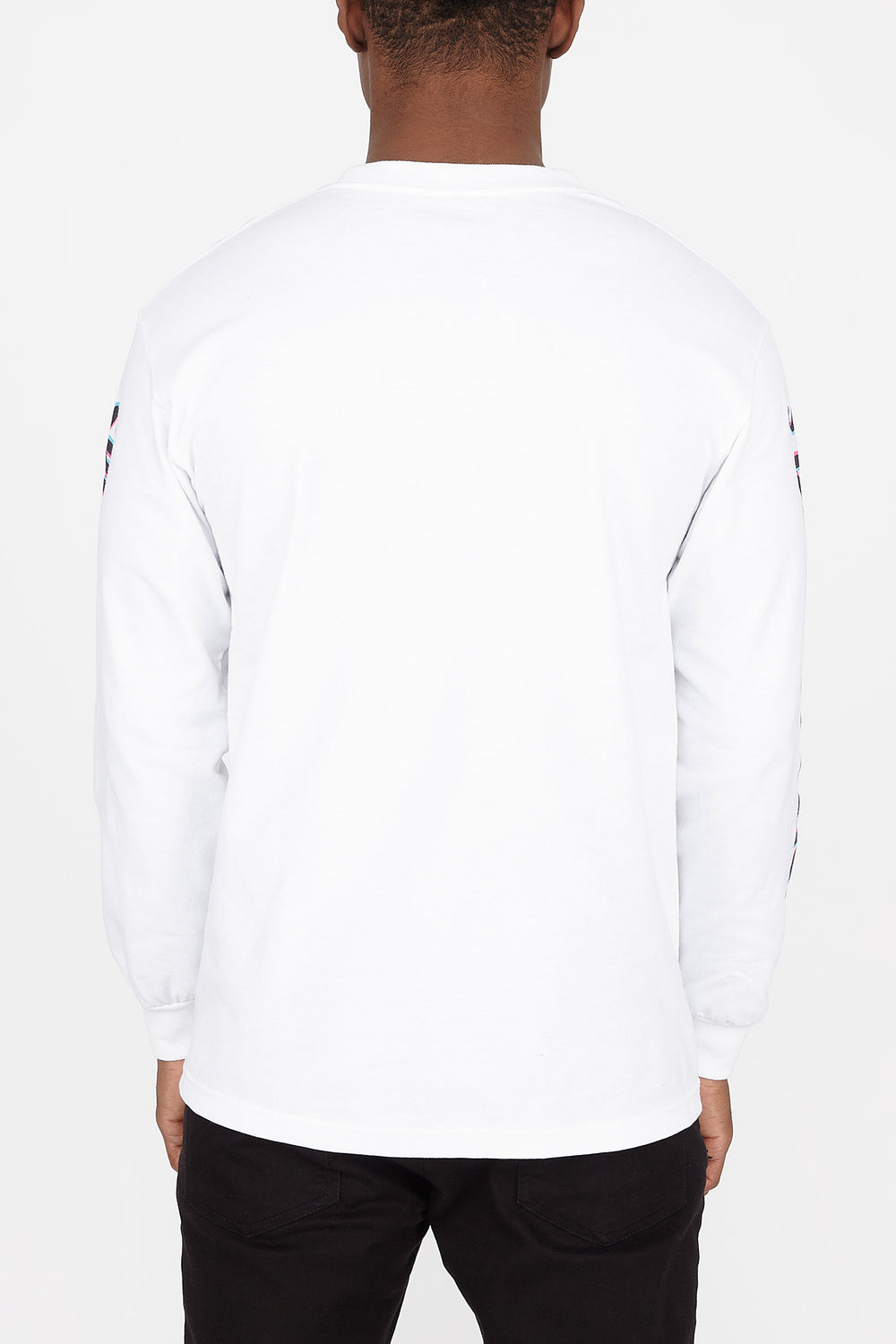 Spitfire Lil Big Head Logo Long Sleeves White